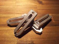 4x Aluminium Spannpratze Spanneisen CNC-Fräsmaschine oder Graviermaschine Kress