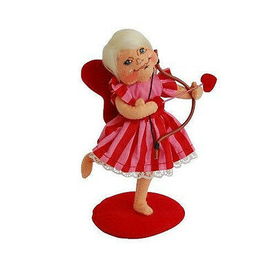 "LOVE FAIRY 6"" Valentine's Day Table Desk Top FIGURE Annalee Valentine Cupid Gift"