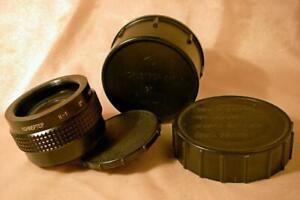MC K-1 2x lens DOUBLER TELECONVERTER f M42 Zenit Pentax camera Kiev Arsenal 1986