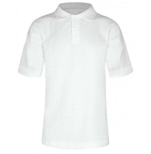 Listers Boys Girls Polo Shirt 100/% Cotton School Plain P.E Sports GYM Ages 3-16