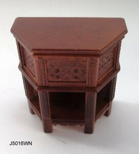 Jbm Miniatures J5016wn 16th Siècle Tudor Côté Armoire - Noix 1:12