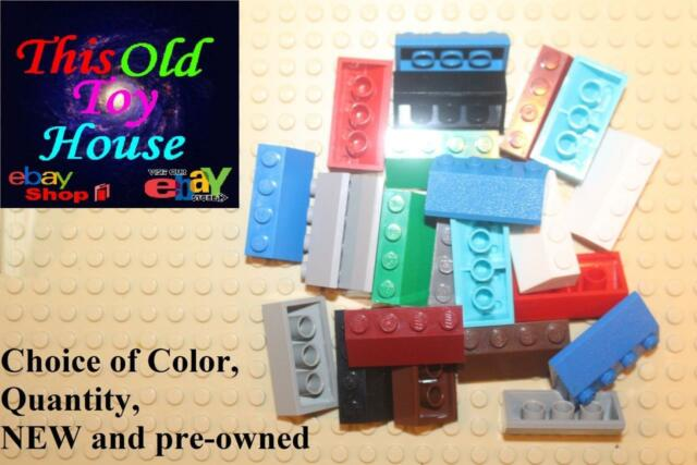 Lego 2x4 Brick Roof Slope 45 degree Modular part 3037 lot of 13 Red