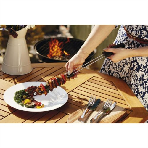 Kitchen craft master class double fourche slider barbecue barbecue brochette