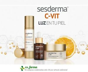 SESDERMA-C-VIT-LUMINOSIDAD-CREMA-50ML-GEL-50ML-SERUM-30ML-CONTORNO-OJOS-CVIT