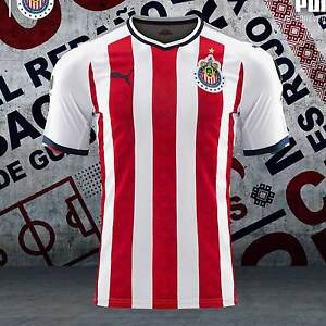 5694828ab Image is loading PUMA-CHIVAS-DE-GUADALAJARA-AUTHENTIC-PLAYERS-HOME-JERSEY-
