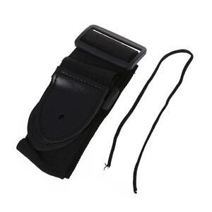 Adjustable-Shoulder-Strap-132-x-6-cm-Acoustic-Electric-Guitar-Black-SS