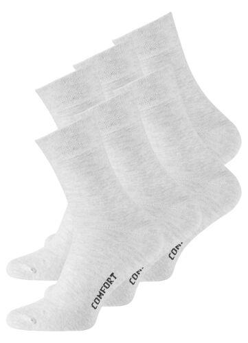 3 6-9 Paar Herren Socken Diabetikersocken ohne Gummibund Gesundheitssocken