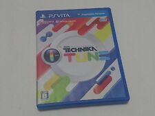 PS Vita DJ Max Technika Tune Playstation Sony PSV JP Japan Edition rhythm game