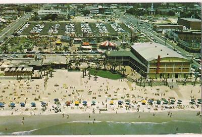 Myrtle Beach Sc Pavilion Amusement Park Aerial View Vintage Postcard Ebay