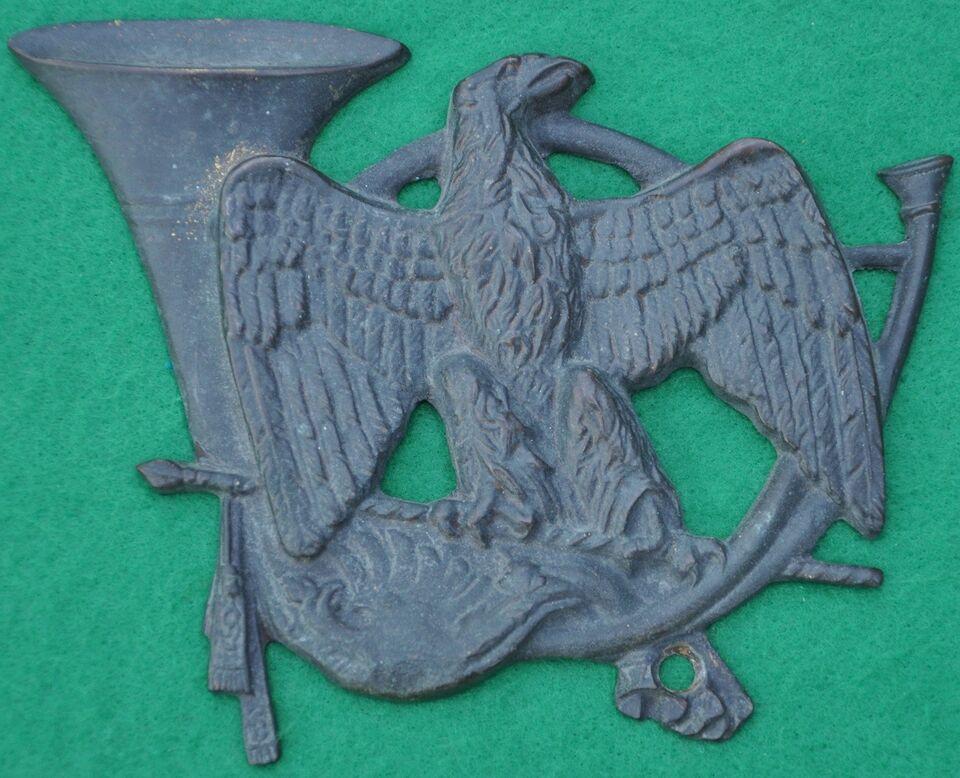 Badges, 3744, Stort fransk broncemærke fra 24th Regiment d