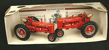 2 Ertl Farm Tractors IH Case Farmall Super H & M Farm Progress Show NIB