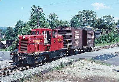 Original Kodachrome Slide of Claremont & Concord RR 44 tonner