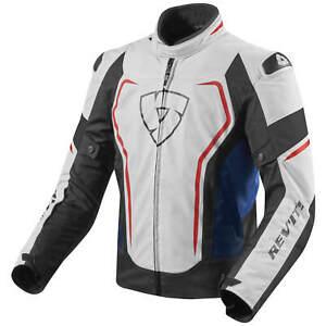 REVIT-Vertex-Sportifs-Veste-Textile-Hommes-Blanc-Bleu-Rouge