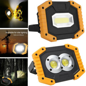 Details About 4000lm Usb Rechargeable Cob Led Work Inspection Light Portable Emergency Lamp