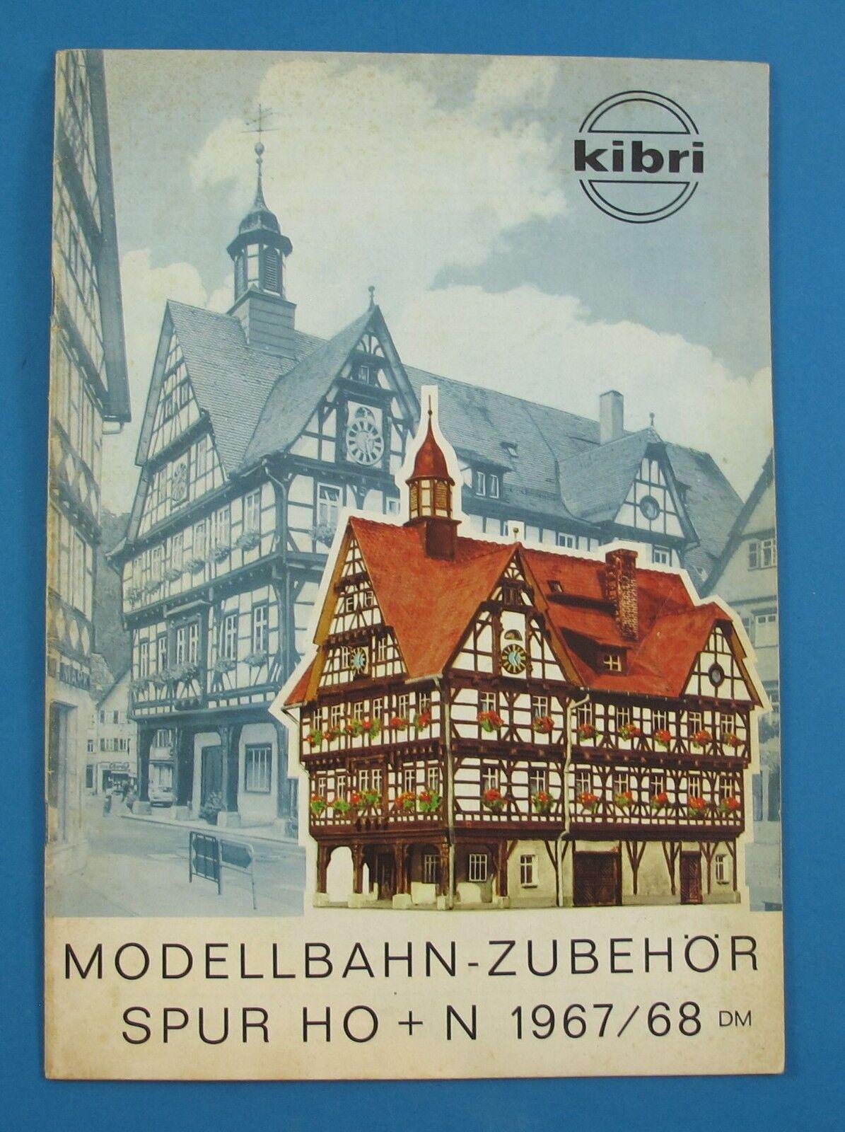 Kibri modelo ferroviario-accesorios pista h0 + n 1967 1967 1967 68 catálogo  barato y de alta calidad