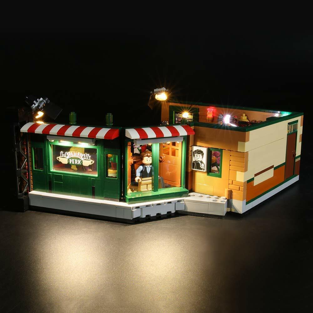 LIGHT MY BRICKS LED Light kit for LEGO Friends Central Perk 21319