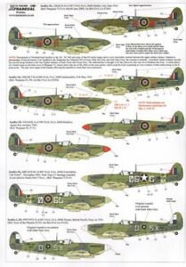 Xtradecal 1/48 Supermarine Seafire Mks.ii/ Mk.iii/ Xvii #48094