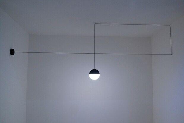 Plafoniere Flos : Flos lampada design string light sphere sospensione