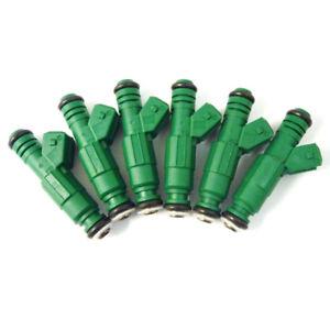 Green Giant Fuel Injectors 0280155968 New Set of 4-42LB 440cc