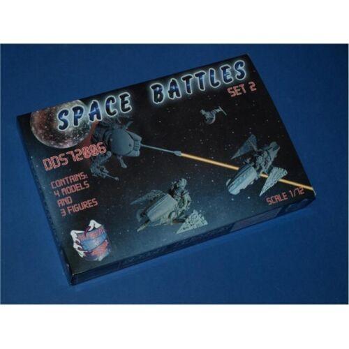DDS 72006-1//72 Science Fiction Series Space Battles Set 2 Plastic Model Kit