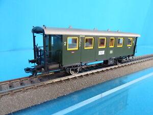 Marklin-43010-DB-Personenwagen-with-Platforms-2-kl-Green-OVP-09859