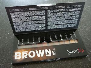Black-Up-Oogschaduw-palette-Brown-nude-eyeshadow-palette