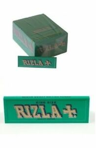 5-BOOKLETS-RIZLA-KING-SIZE-GREEN-ROLLING-PAPERS