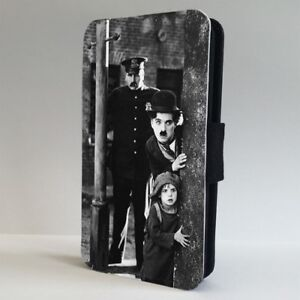 Charlie-Chaplin-Comedy-Film-Scene-FLIP-PHONE-CASE-COVER-for-IPHONE-SAMSUNG