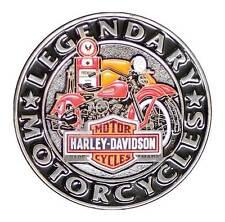 Harley Davidson Gas Pump Motorcycle 3D Die Cast Pin