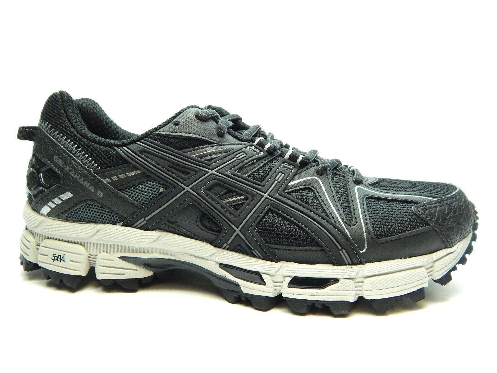 ASICS GEL-Kahana 8 Trail Running shoes Black Onyx Silver Men's Men's Men's Sz 10 T6L0N 9099 c13af6