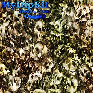 hydrographics film water transfer hydro dipping hex jungle