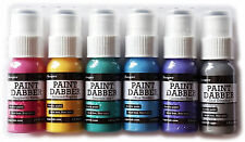 LOT 6 Ranger Acrylic Paint Dabbers - Complete Set of 6 New 2016 Release Colors