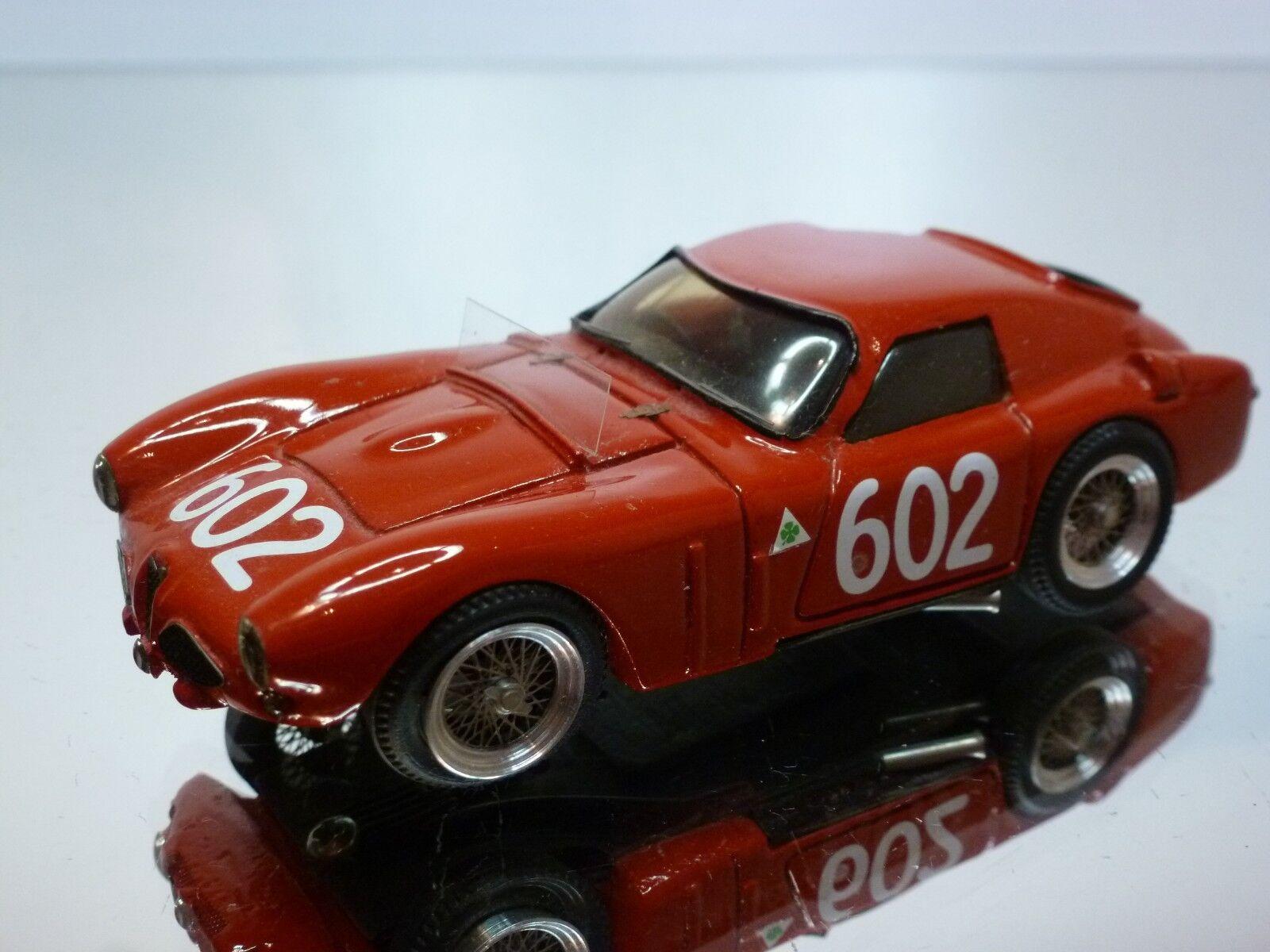 JOLLY MODEL ALFA ROMEO ALFA 6C 3000cc MILLE MIGLIA - rojo 1 43 - GOOD CONDITION