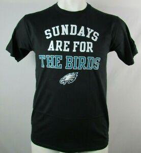 Philadelphia-Eagles-Men-039-s-Fanatics-Black-Sundays-are-for-the-Birds-T-shirt-NFL