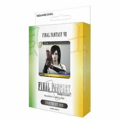 Final Fantasy VII FF7 FFTCG Final Fantasy Trading Card Game 2019 Starter Deck