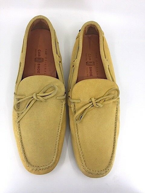 THE ORIGINAL CAR SHOE by PRADA  PALOMINO SUEDE DRIVING MOCCASINS LOAFER 12 US