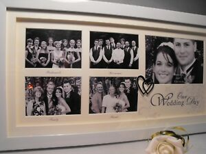 WEDDING GIFT PRESENT OUR WEDDING DAY PHOTO FRAME BRIDESMAIDS FAMILY FRIENDS - wolverhampton, West Midlands, United Kingdom - WEDDING GIFT PRESENT OUR WEDDING DAY PHOTO FRAME BRIDESMAIDS FAMILY FRIENDS - wolverhampton, West Midlands, United Kingdom