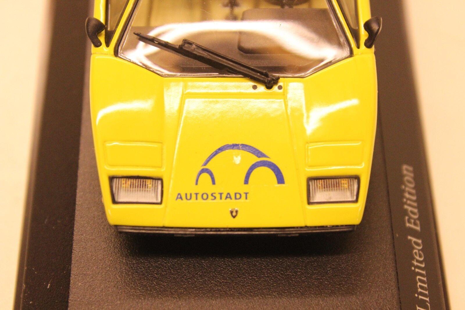 Minichamps Autostadt LAMBOURGHINI LAMBOURGHINI LAMBOURGHINI 1 de 400 un. individuay Numerada Ultra Raro 45664a