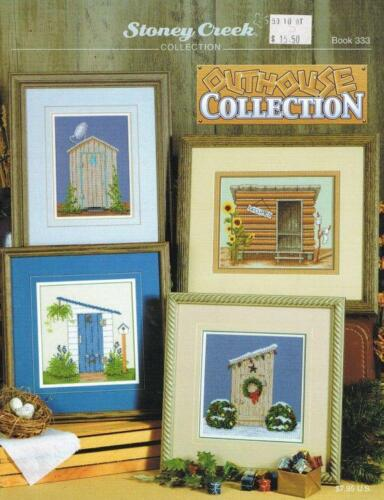 Outhouse Collection BK333 by Stoney Creek cross stitch pattern