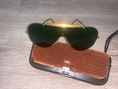 Vintage Ray Ban Bausch & Lomb Wings Sunglasses, or
