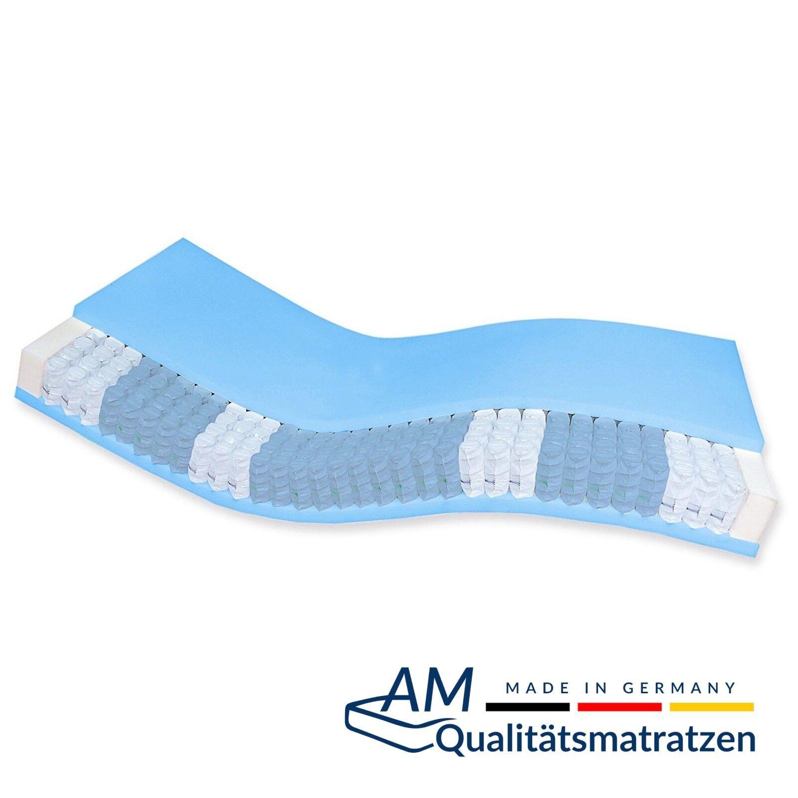 Hochwertige 7-Zonen Taschenfederkern Matratze 80x180 80x190 80x210 80x220 25 cm