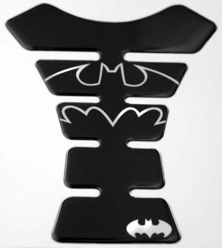 Batman Shadow Mirror Chrome Effect 3D Gel Resin Domed Tank Pad K1 Shape