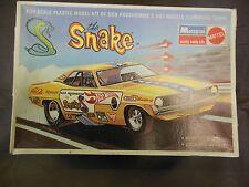 DON PRUDHOMME THE SNAKE 1/24 SCALE MOPAR HEMI CUDA VINTAGE MODEL CAR KIT DRAG