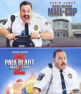 Paul-Blart-MALL-COP-1-amp-2-PG-family-comedy-movies-new-DVD-Kevin-James-Segway