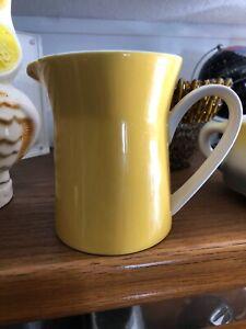 Mikasa-Duplex-Ben-Yellow-2557-Coffee-Creamer-Container-Dispenser-Dish-Holder-Cup