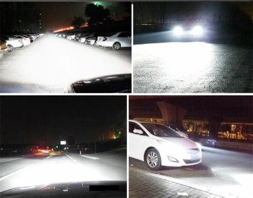 9145 Fog Lights Bulbs For Jeep Liberty 2002-2007 4PCS 9007 HB5 LED Headlight