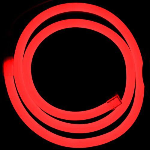 LED Neon Stripes RGB Controller Rot pink kaltweiß Leuchtstreifen Flex 230V