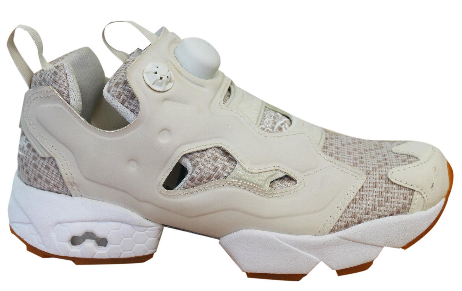 Reebok Instapump Fury SC Slip Damenschuhe Hi Trainers Mid Slip SC On Schuhes Cream BD3006 D41 e336b9