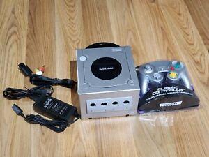 Nintendo Gamecube Console Bundle! DOL-101! GC! 1 NEW CONTROLLER! W/ ALL CORDS!