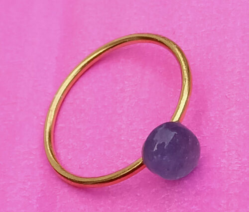 Details about  /Natural Tanzanite Gemstone Oval Shape Dainty Stack 925 Sterling Silver Rings